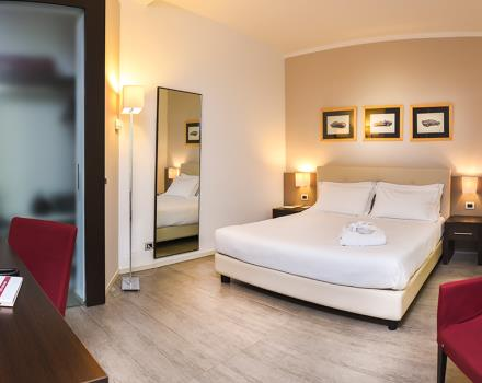 A photo of one of the family suites at the Modena Resort in Casinalbo di Formigine city