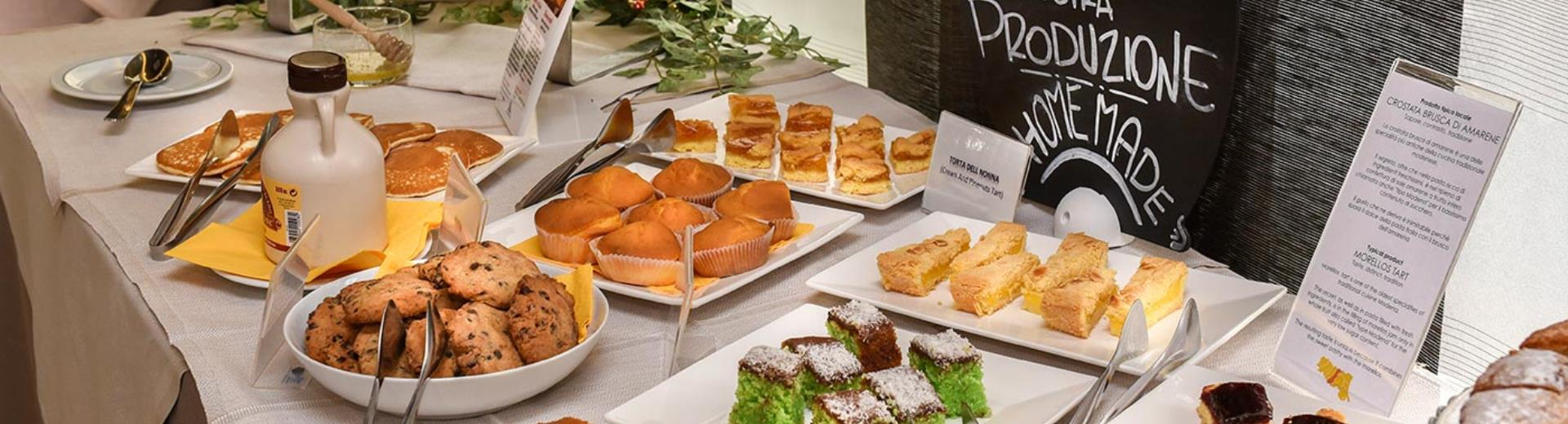 photo of the breakfast at the Modena Resort Hotel